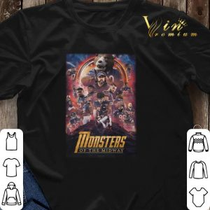 Chicago Bears Monsters Of The Midway Avengers Infinity War shirt sweater 2