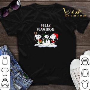 Christmas Snoopy Feliz Navidog shirt
