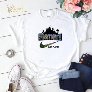 Fortnite Battle Royale Nike Just Play It Logo shirt sweater