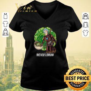 Funny Mandalorian The Rickdalorian Rick and Morty Crossover shirt sweater