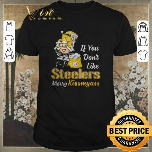Funny Merry Kissmyass Santa If You Don't Like Pittsburgh Steelers shirt