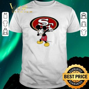 Hot Dabbing Mickey San Francisco 49ers shirt