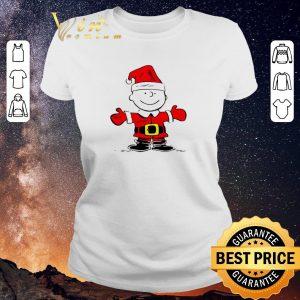 Hot Merry Christmas Santa Charlie Brown shirt