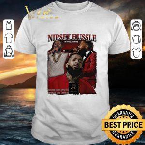 Hot Rip Nipsey Hussle in loving memory shirt