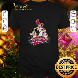 Hot St. Louis Cardinals Mickey Donald And Goofy shirt