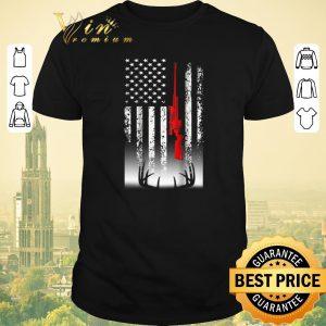 Hot american flag sniper deer hunting shirt