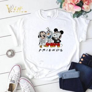 Mickey Olaf and Snoopy Friends shirt sweater