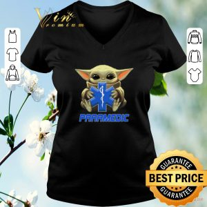 Nice Baby Yoda hug Paramedic Medical Star Wars Mandalorian shirt sweater