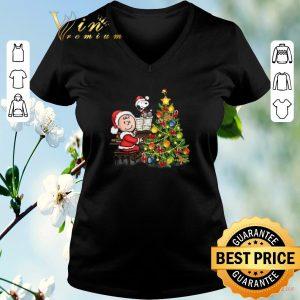 Nice Christmas tree Peanuts Snoopy Charlie Brown shirt