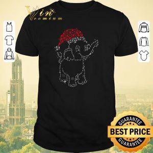 Nice Diamond Santa elephant Christmas shirt sweater