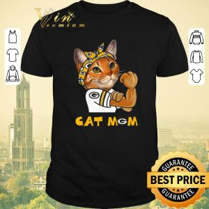 Nice Green Bay Packers Strong Cat Mom shirt