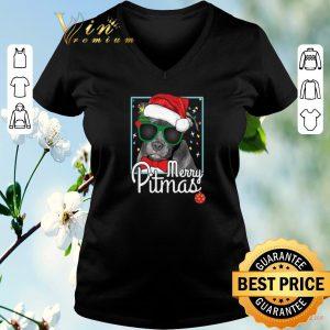 Nice Pit Bull Santa merry Pitmas Christmas shirt sweater