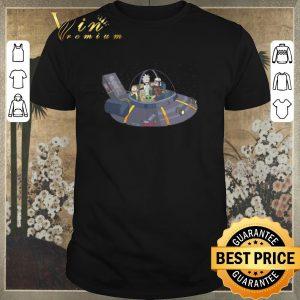 Nice Rick and Morty Razor Crest Spaceship Mandalorian Yoda shirt sweater
