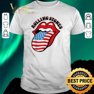 Nice The Rolling Stones American USA Flag shirt sweater