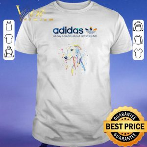 Nice adidas all day i dream about greyhound shirt sweater