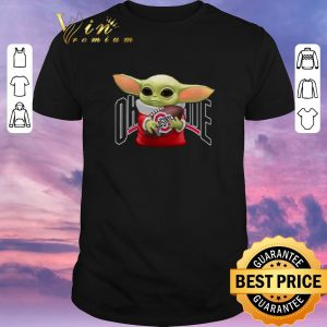Official Baby Yoda Hug Ohio State Buckeyes shirt sweater
