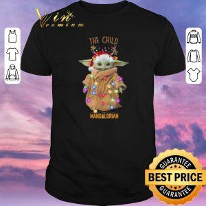 Official Christmas Baby Yoda the child the Mandalorian Star Wars shirt