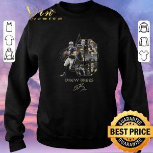 Official Drew Brees 9 signature New Orleans Saints logo shirt sweater 2