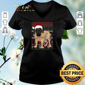 Official English Mastiff Ugly Christmas shirt sweater