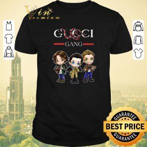 Official gucci gang supernatural coral snake and stripe shirt sweater