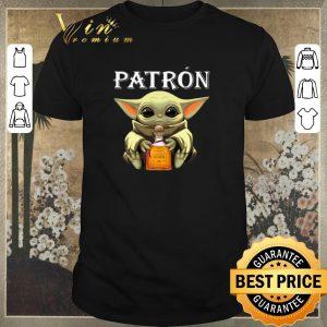 Original Baby Groot hug Patron Tequila shirt sweater