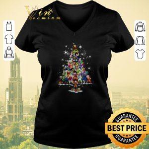 Original Christmas tree Dragon Ball characters shirt