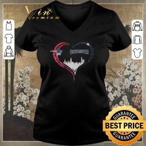 Original Diamond Love New England Patriots Heart City shirt sweater