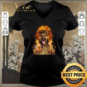 Premium Game Of Thrones German Shepherd King of my heart shirt
