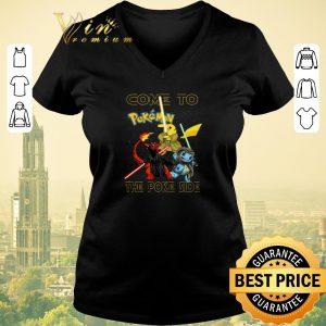 Premium Star Wars Come to Pokemon the Poke side shirt sweater