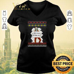 Premium Ugly Christmas Joker Jingle Bells Batman Smells sweater