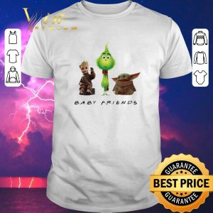 Pretty Baby Friends Baby Yoda Baby Grinch And Baby Groot shirt sweater