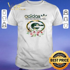 Pretty adidas all day i dream about Green Bay Packers shirt sweater