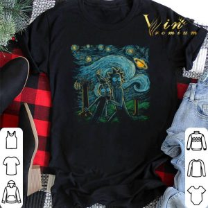 Rick and Morty starry science shirt sweater