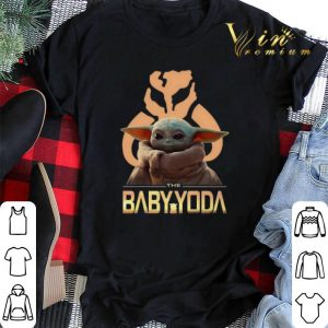 The Baby Yoda Star Wars Mandalorian Symbol Logo shirt sweater