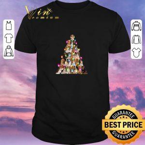 Top Christmas tree Cavalier King Charles Spaniel shirt