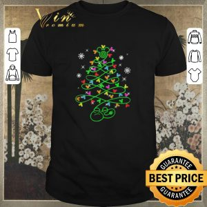 Top Christmas tree Mickey mouse shirt