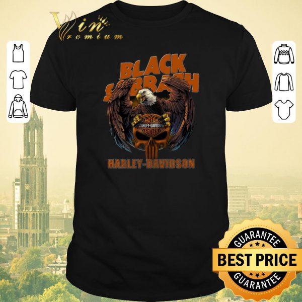 Top Eagle Black Sabbath Harley Davidson shirt sweater