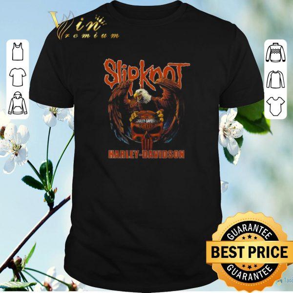 Top Eagle Slipknot Harley Davidson shirt sweater