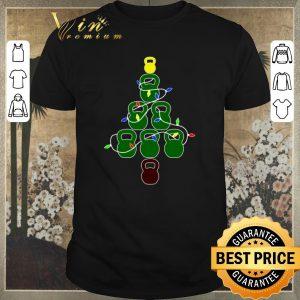 Top Kettlebell Christmas Tree fitness shirt sweater