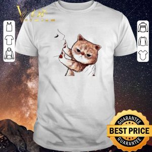 Top Kiss cat cute shirt sweater