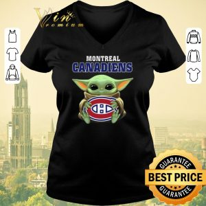 Top Star Wars Baby Groot hug Montreal Canadiens shirt