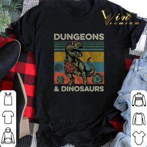 Vintage Dungeons & Dinosaurs Dnd shirt
