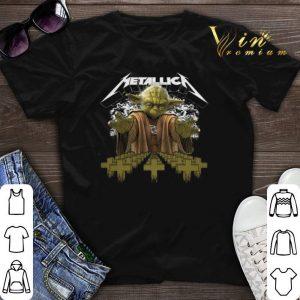 Yoda Star Wars Metallica shirt sweater
