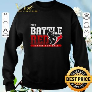 2019 Battle Red Houston Texans Football shirt sweater 2