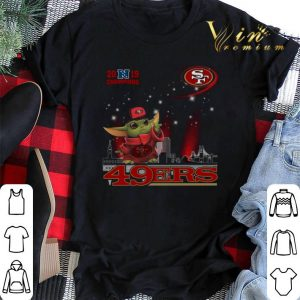 2019 Champions Baby Yoda San Francisco 49ers shirt sweater