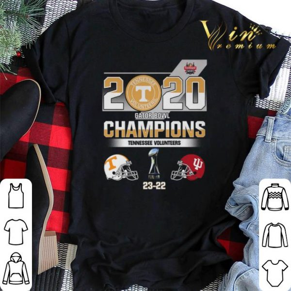 2020 Gator Bowl Champions Tennessee Volunteers Indiana Hoosiers shirt sweater