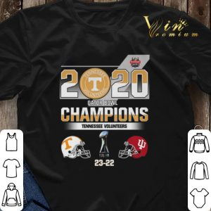 2020 Gator Bowl Champions Tennessee Volunteers Indiana Hoosiers shirt sweater 2
