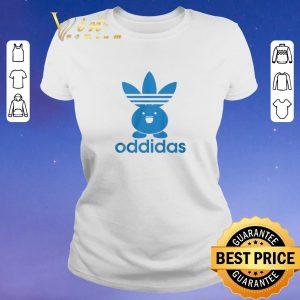 Adidas Oddidas Oddish Pokemon shirt sweater 1
