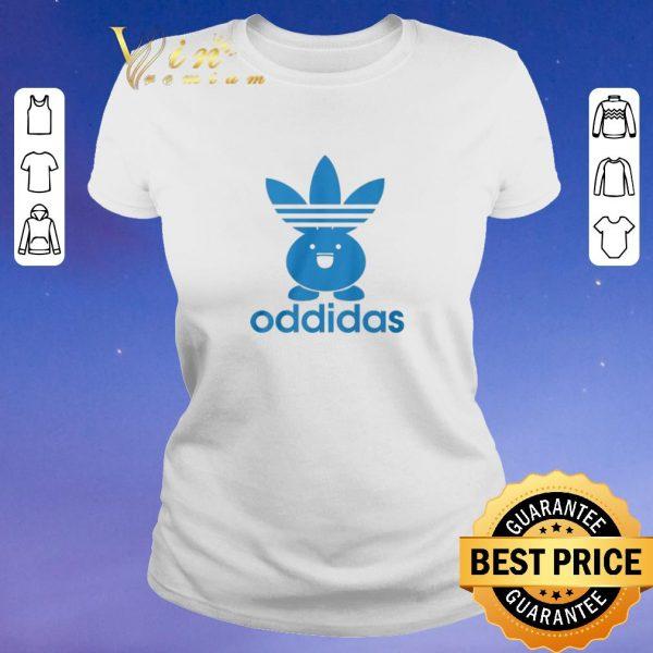 Adidas Oddidas Oddish Pokemon shirt sweater