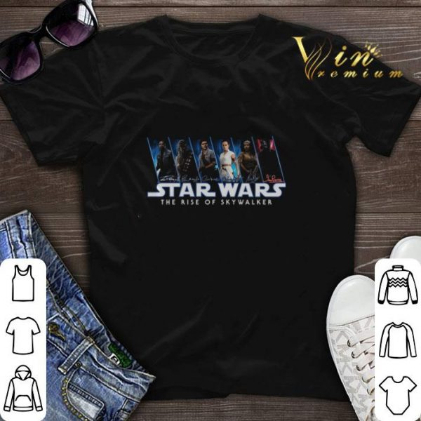 All signature Star Wars The Rise Of Skywalker shirt sweater
